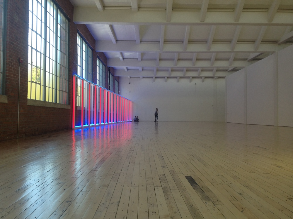 Dan Flavin, one of my favorite artists.