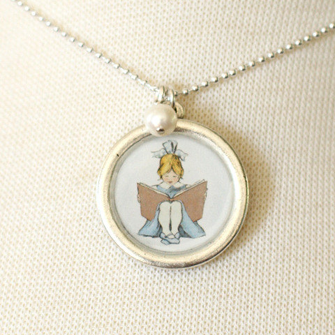 Read To Me Necklace $28.00