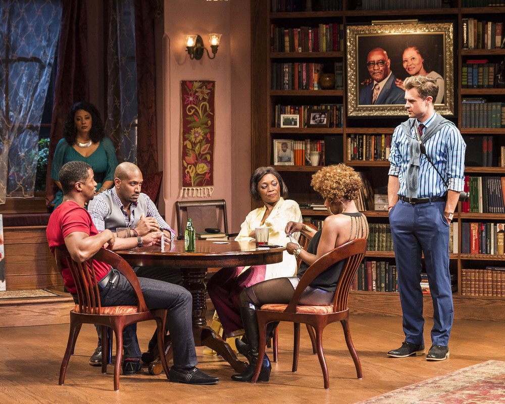 Cast of  Immediate Family  at the Mark Taper Forum