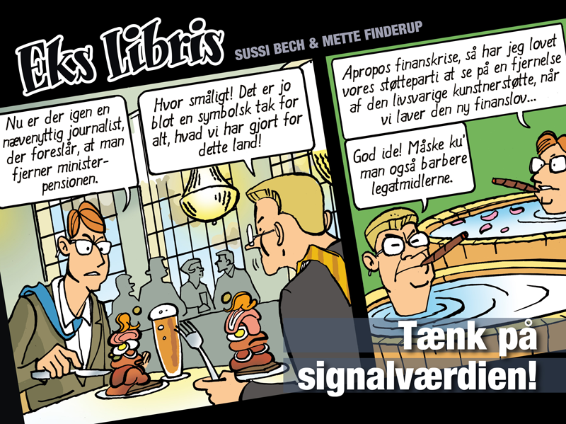 Eks Libris – Tænk på signalværdien!