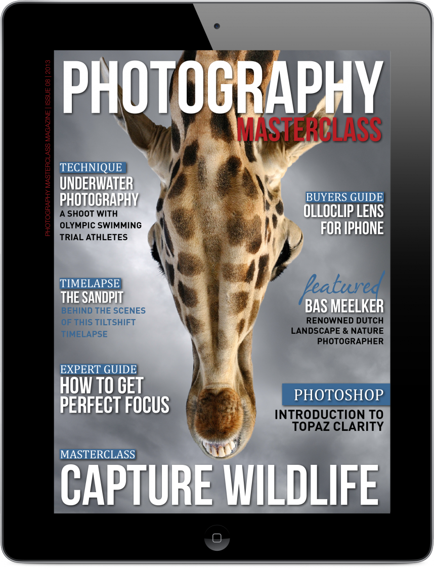 Photography Masterclass Cover Page