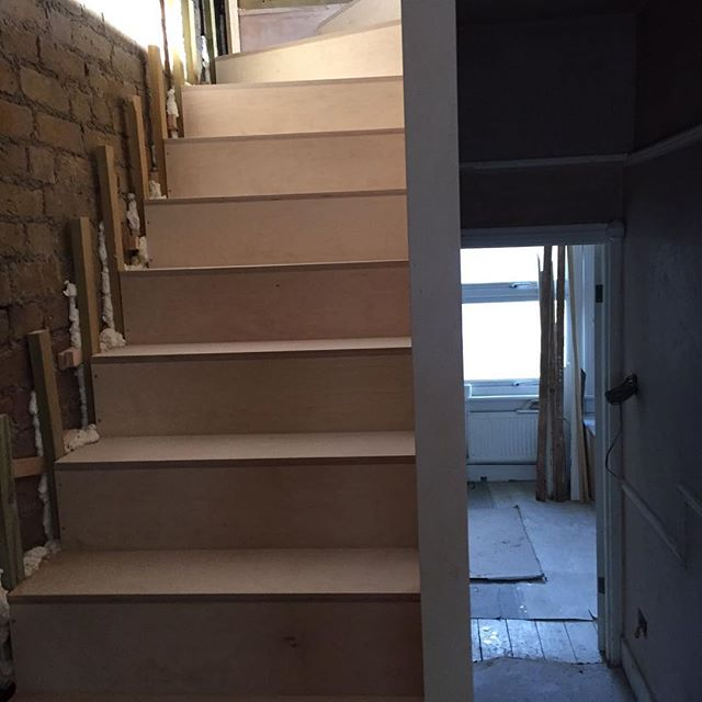 Birch Plywood Stairs London