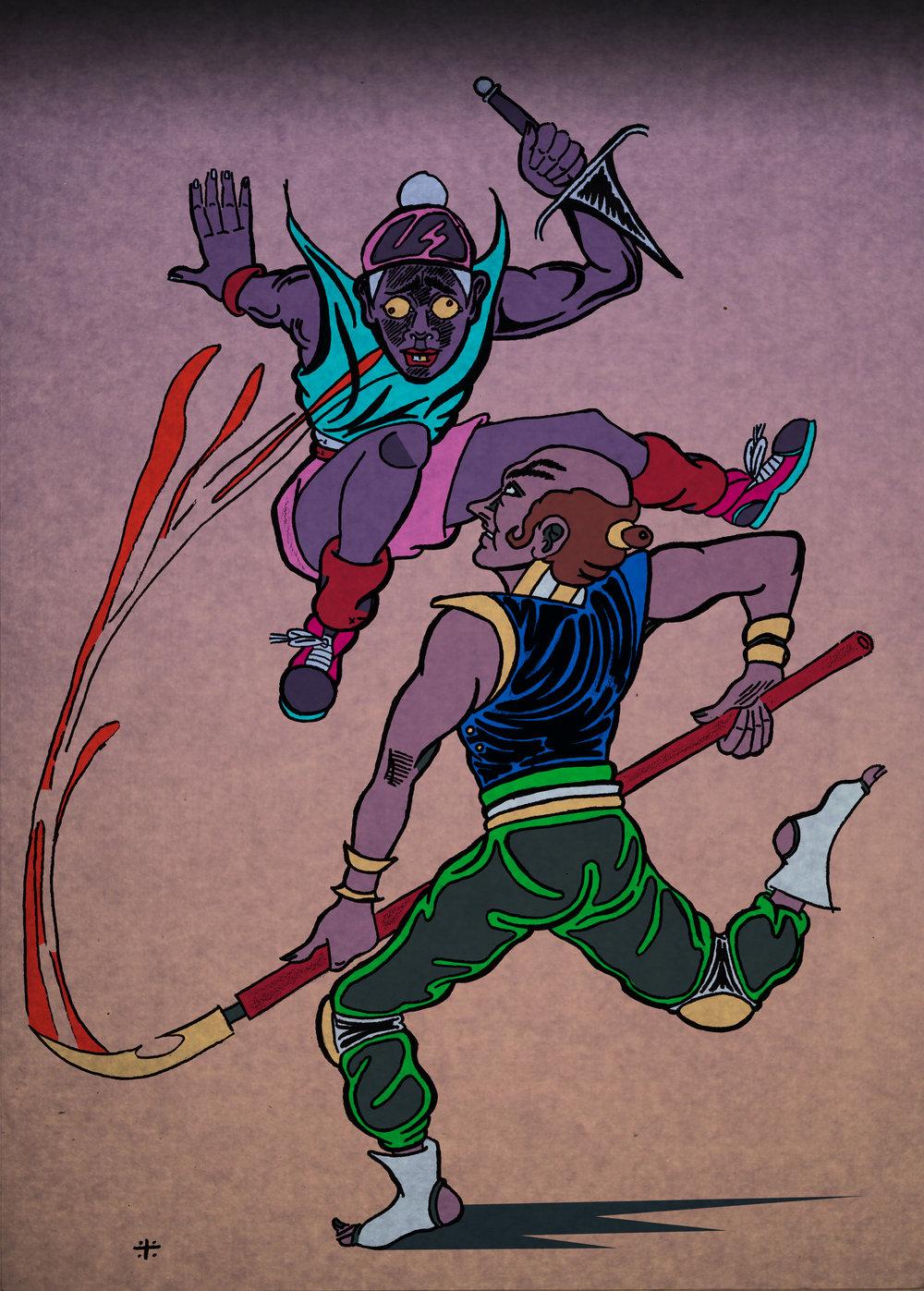 Spear x Dagger
