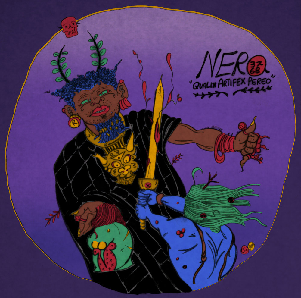 "Black History Month: Death of Nero or ""What an Artist Dies in Me!"""
