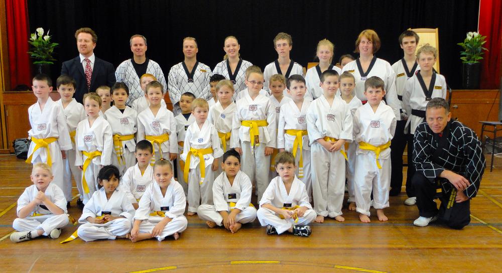 Junior Yellow Belts