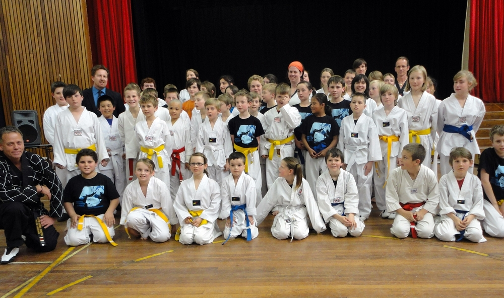 Commando Wolves – Yellow & Blue Belts