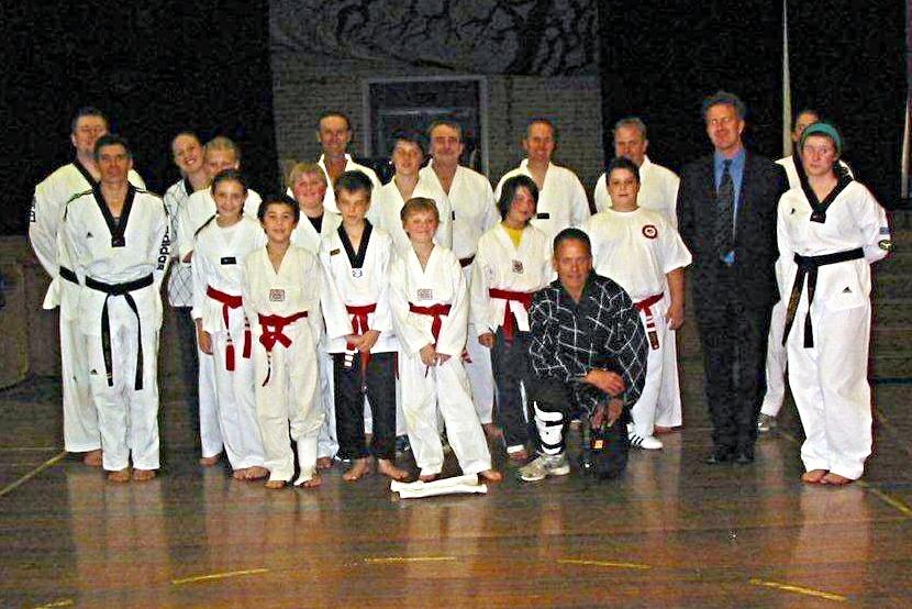 Provisional Belts & Black Belts