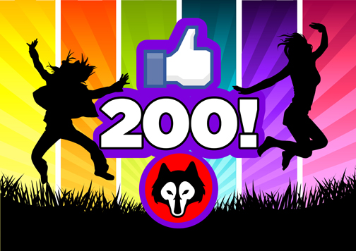 Wolves Martial Arts celebrate 200 Facebook Likes