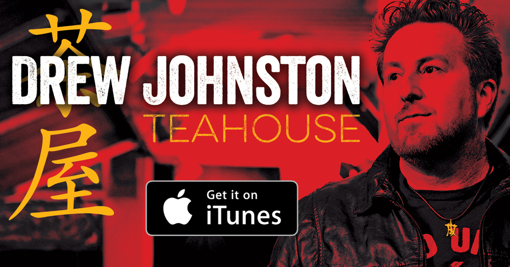 "Drew Johnston's album ""Teahouse"" now available on iTunes"
