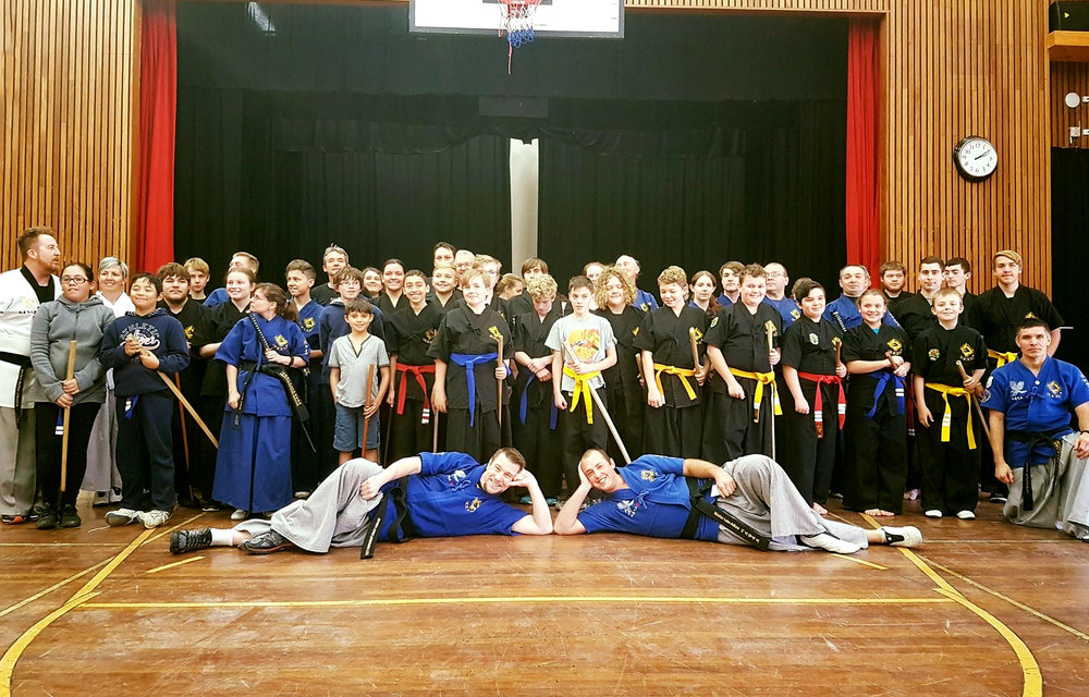 HAIDONG GUMDO GRADING – Photo courtesy of Nepean Wolves