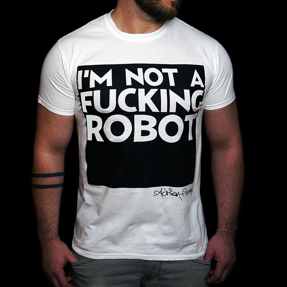 I'M NOT A FUCKING ROBOT