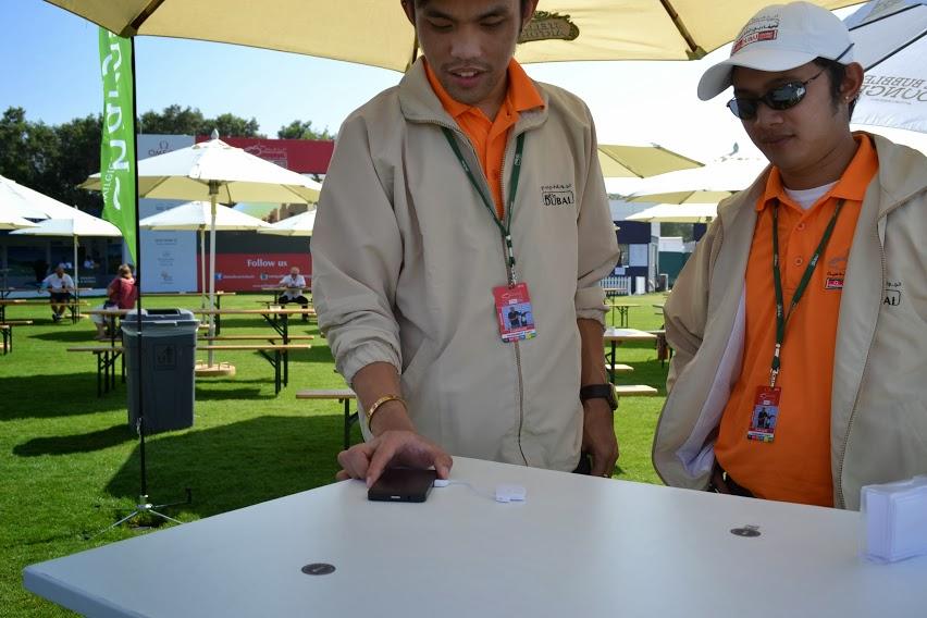 wireless phone charging dubai chargifi
