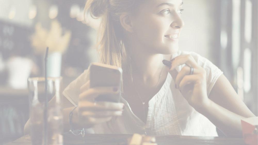 Wireless Charging Coffee Phone