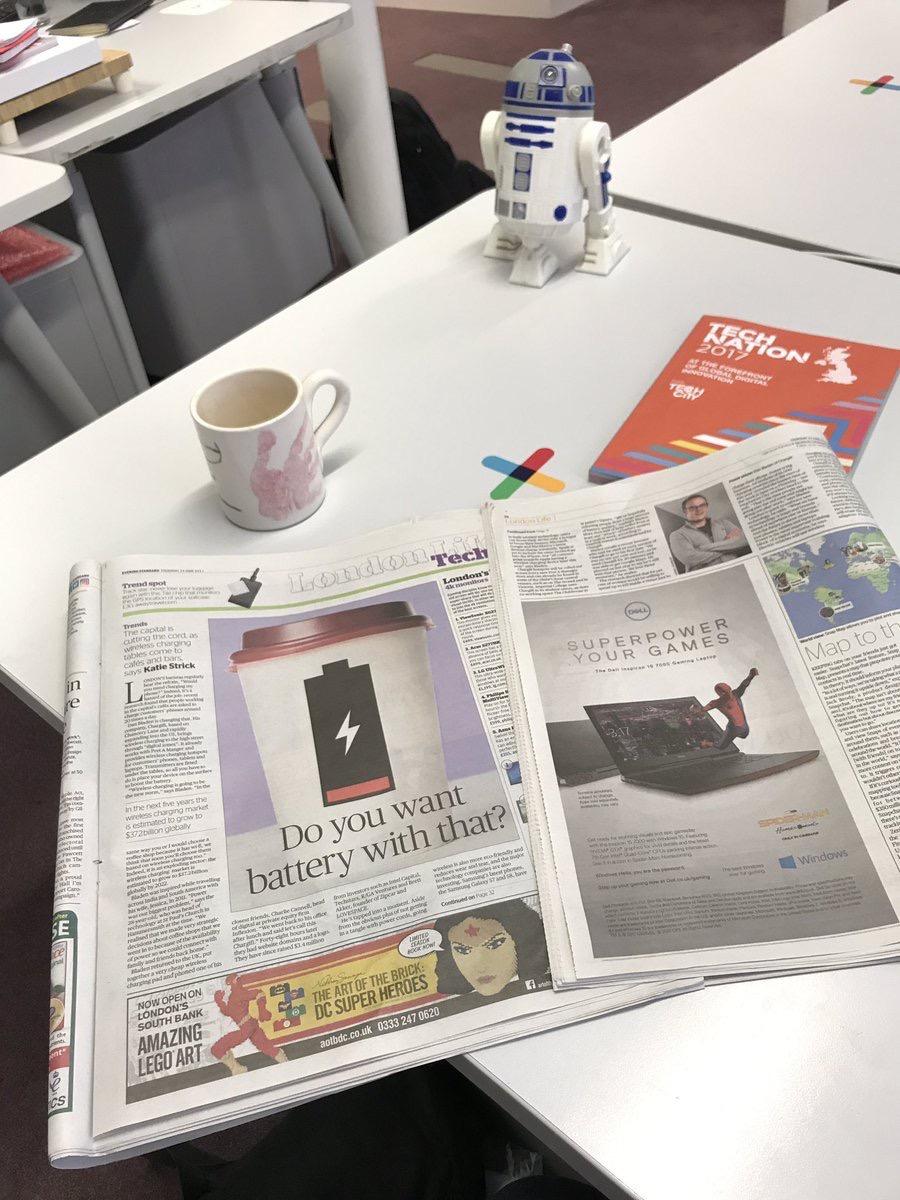 Chargifi Evening Standard