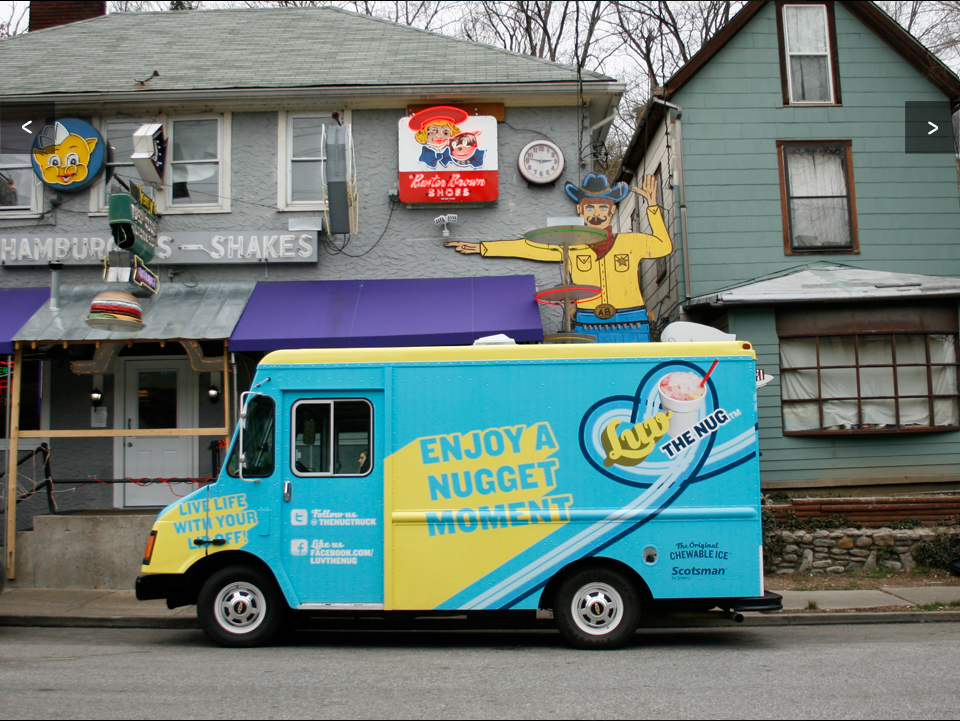 Luv the Nug Mobile Food Truck - Design + Art Direction