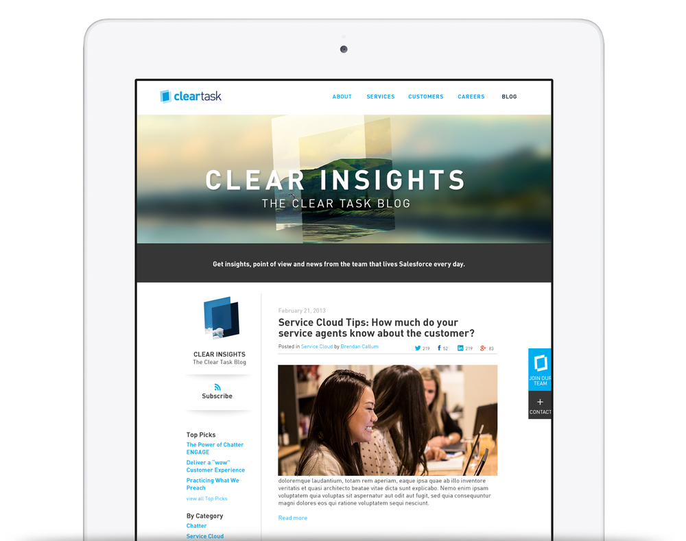 Clear Insights - The Clear Task Blog