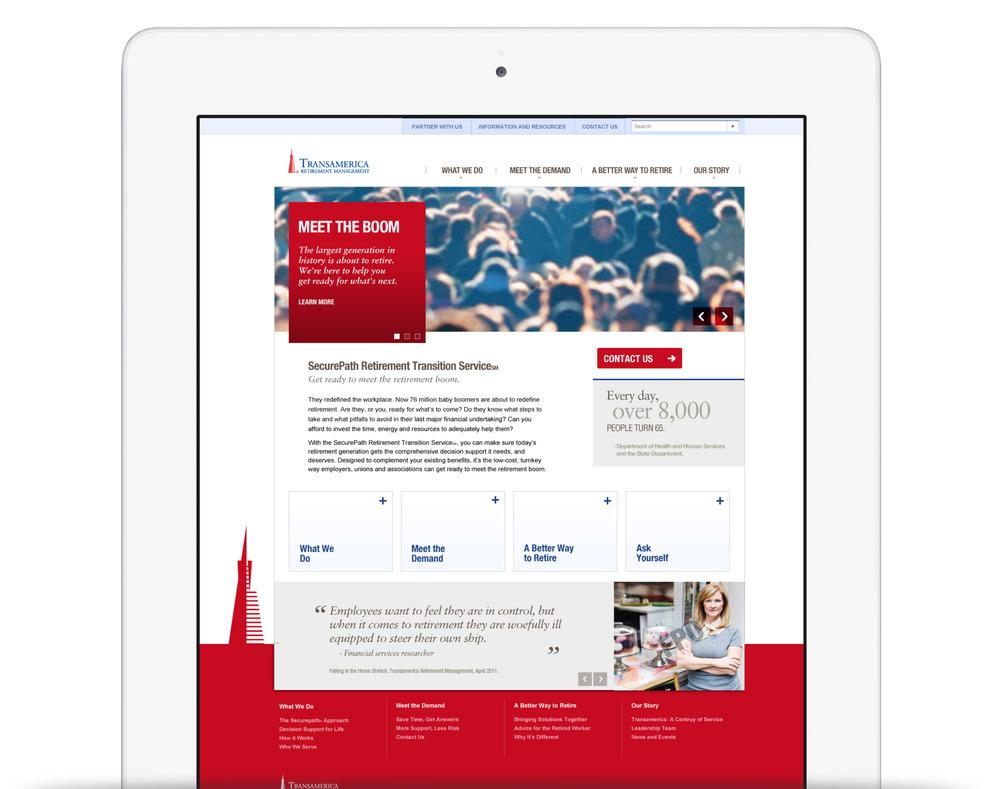 TRMforbusiness.com - UX + UI Design