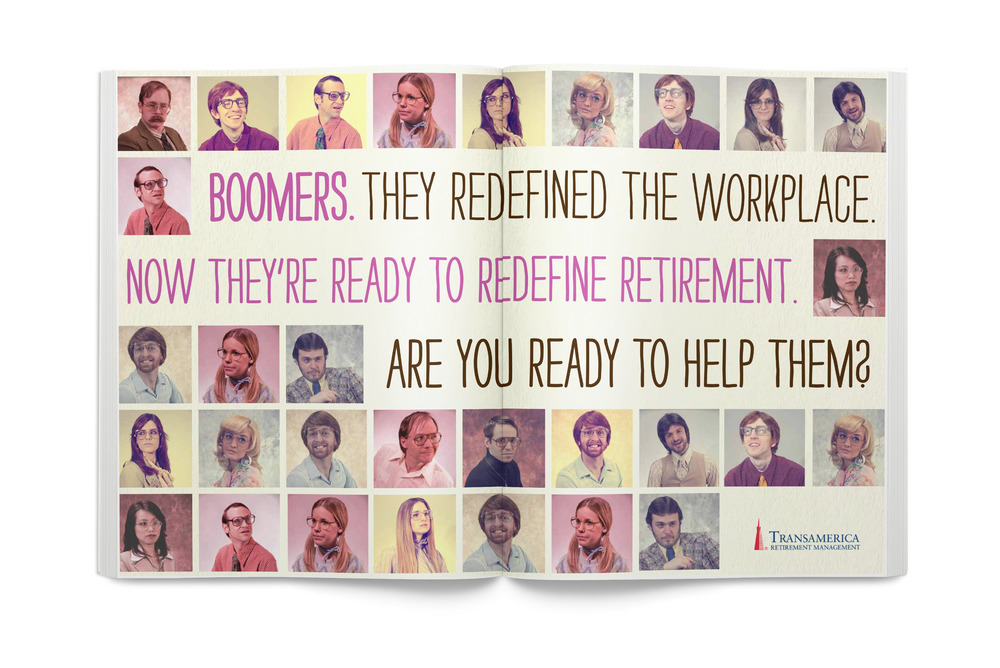 Meet the Boomers Integrated Campaign - Design + Art Direction