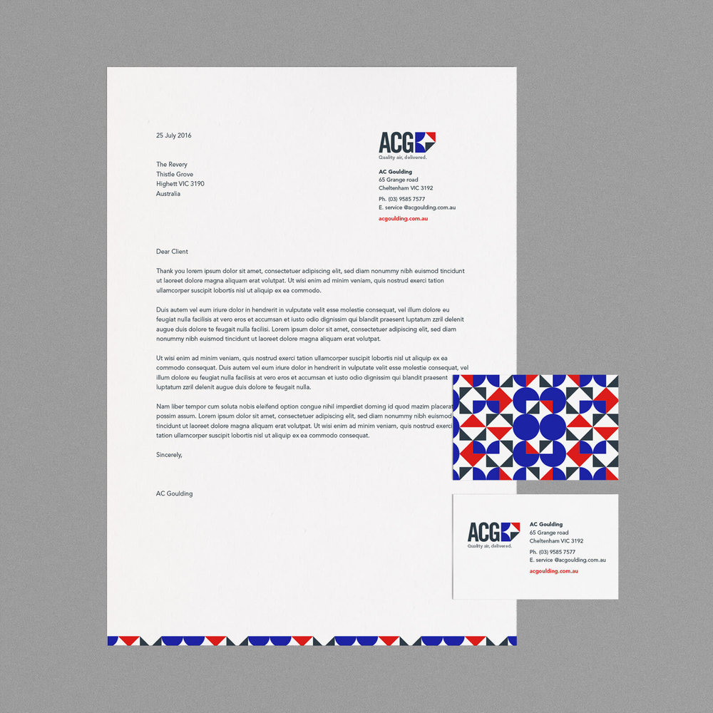 AC Goulding Branded collateral