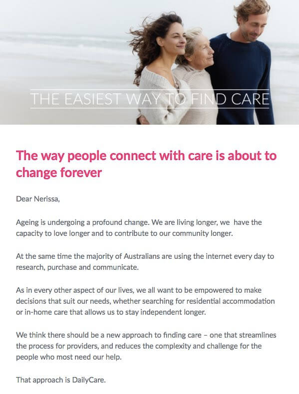 "Dailycare<strong>Email marketing campaign</strong><a href=""/case-studies/dailycare-brand-positioning-content-and-advertising"">Read the case study →</a>"