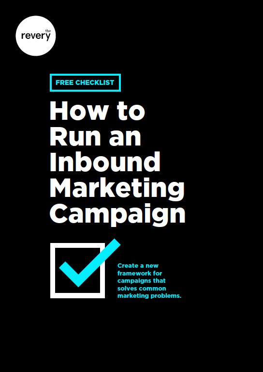 How to run an inbound marketing campaign checklist Download now →