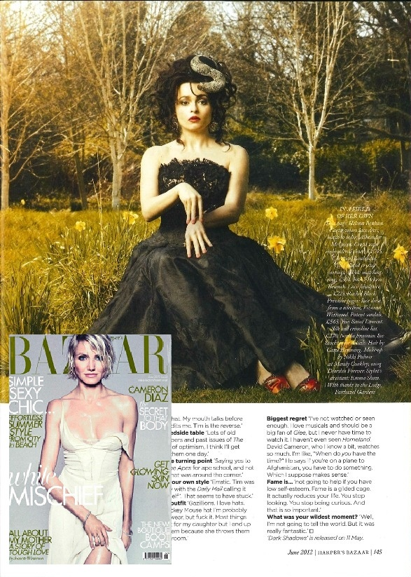 Harper's Bazaar UK May 2012