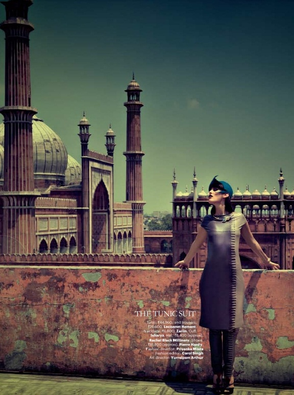 Harper's Bazaar India, July 2012