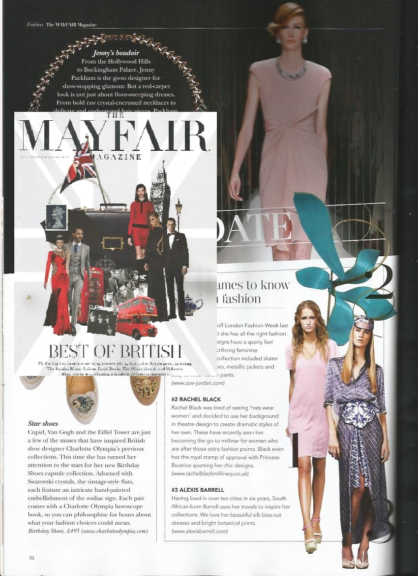 Mayfair Magazine April 2013