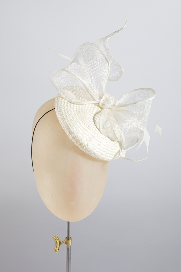 Lextington Cocktail hat in ivory