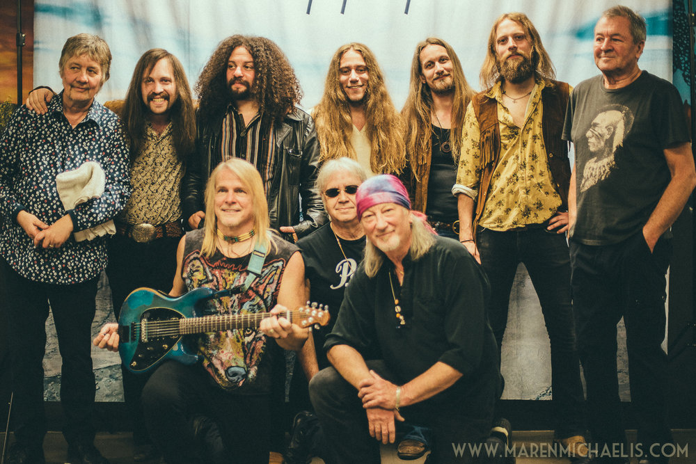 with Deep Purple in Berlin 2017