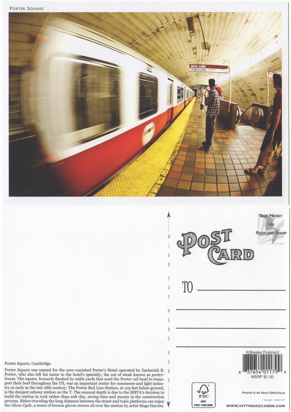 Kittiwake Card Company - 2011  Porter Square