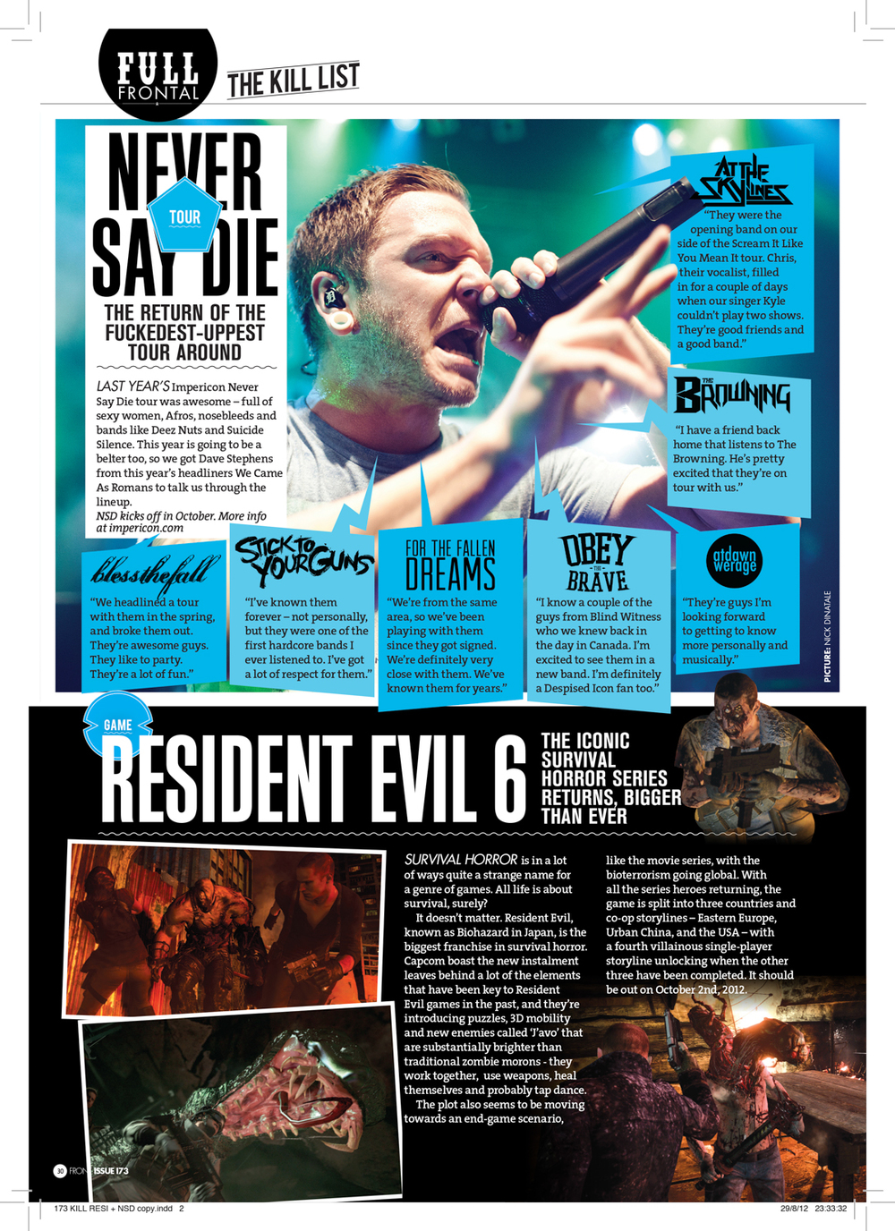 Front Magazine, Issue 173  The Kill List , pg. 30