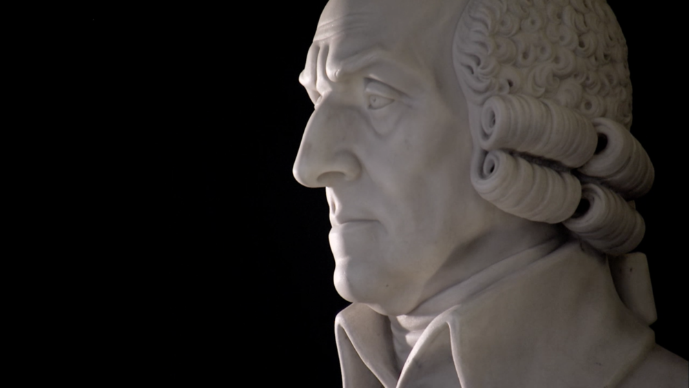 Adam Smith, pai da economia moderna e principal teórico do pensamento liberal