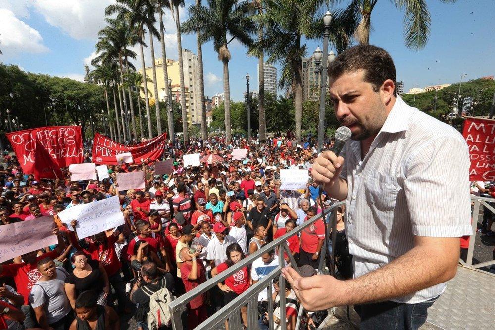Guilherme Boulos, líder do MTST, é cotado para ser candidato à Presidência pelo PSOL
