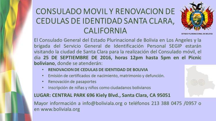 RENOVACION CEDULAS DE IDENTIDAD EN SANTA CLARA, SEPTIEMBRE 2016 ...