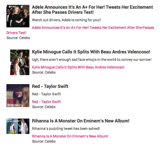 Celebrity Gossip Dashboard