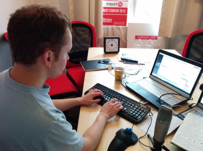 An import.io Webinar Production