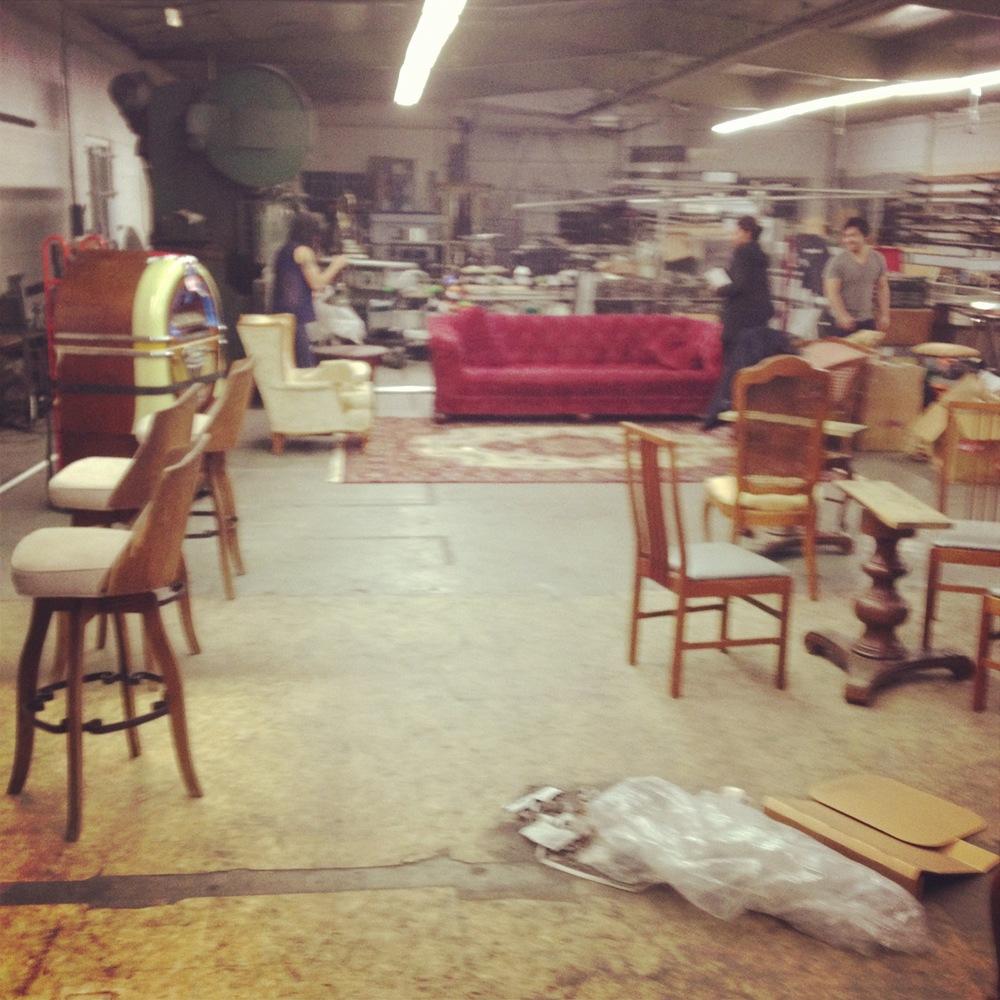Turning a machine shop into a night club.