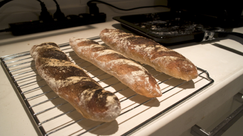AND Inc's Home baked baguette