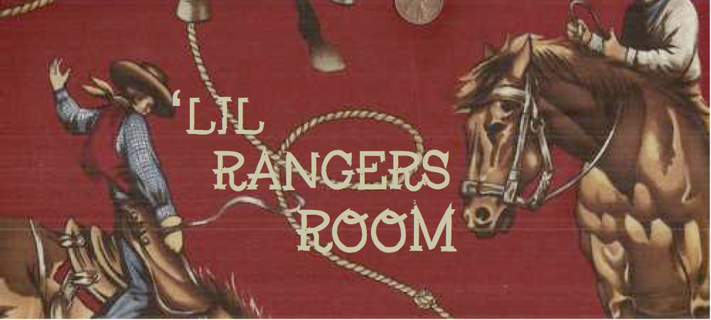More photos of the 'Lil Rangers Room