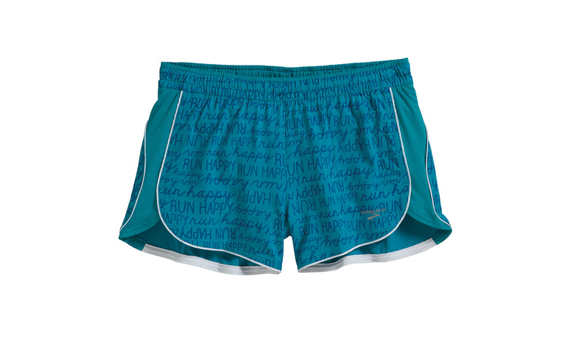 These running shorts from Brooks are colorful, fun, and comfy!