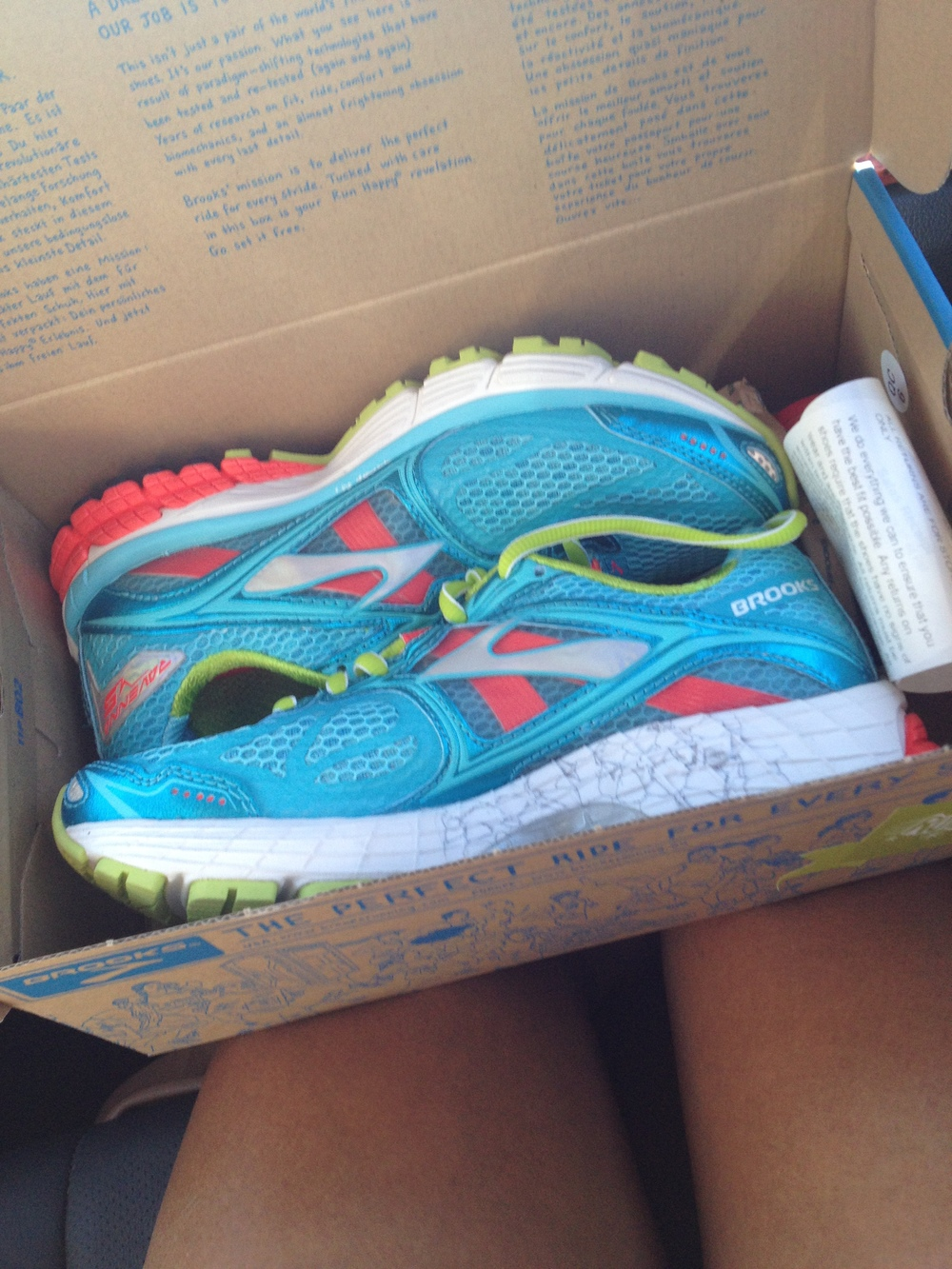 Aren't they pretty?!? What's your favorite running shoe?