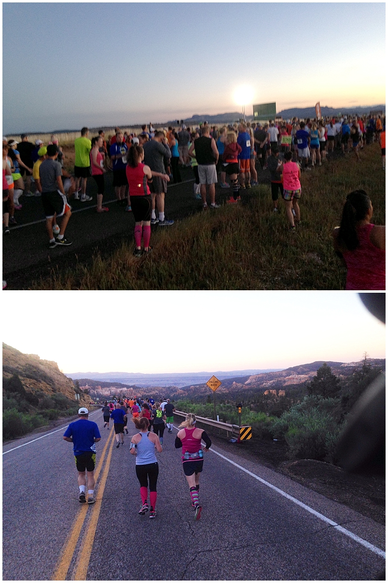 Thanks to Jason for taking these pics of the starting line and during the first part of his run! I still can't manage to get myself to take pics during a race!
