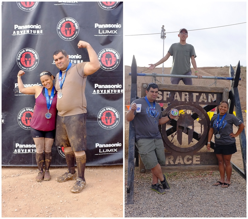 That kid up there is my 15 year old nephew who is gonna rock the Spartan Race when he runs his first race with, hopefully this year ;)