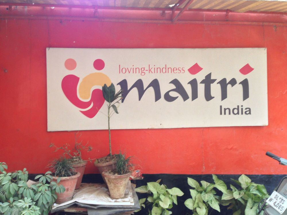 Outside of Maitri