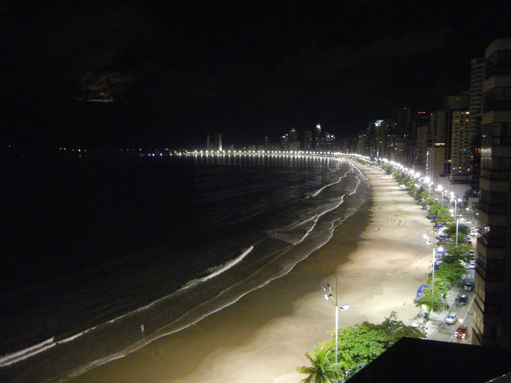 Night view of Balneario