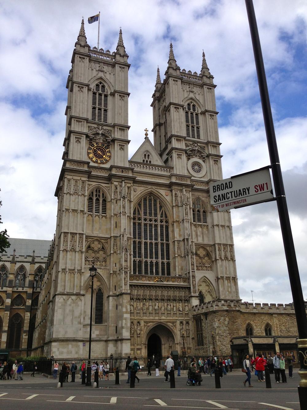 Westminster Abby London, England June 23. 2013