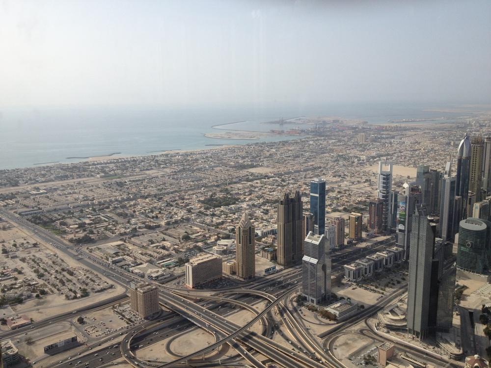 Gulf-side view.