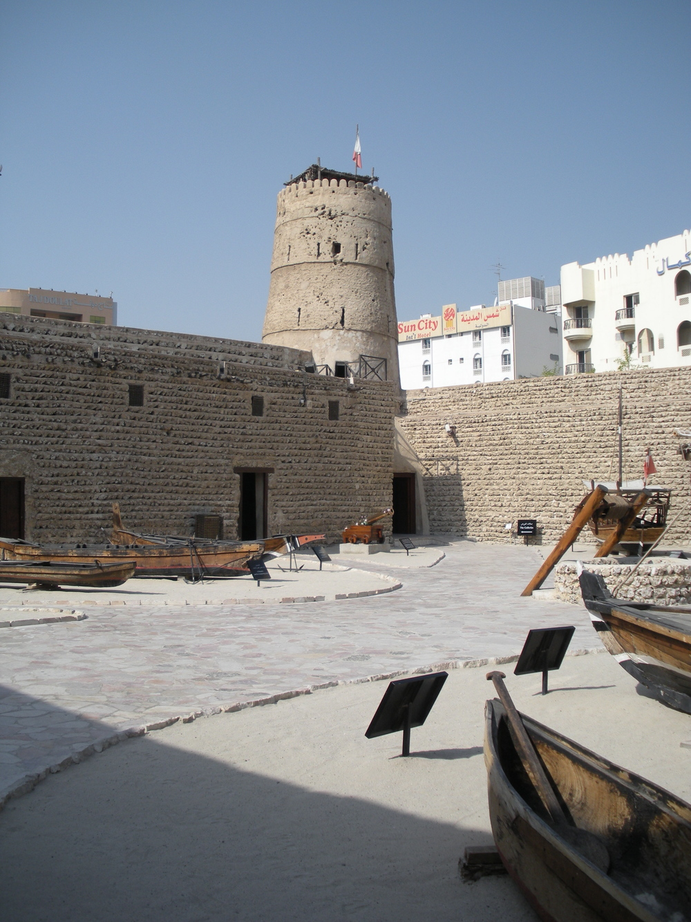 Courtyard of the fort/museum