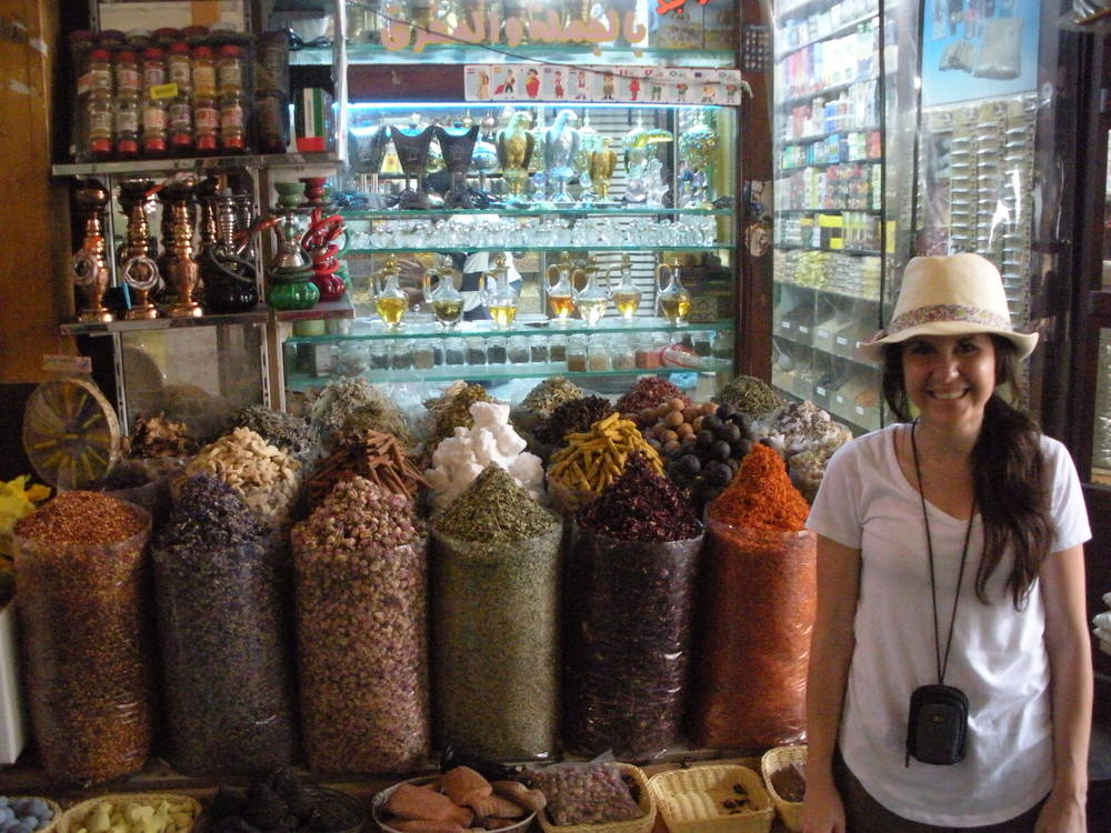Not sure what's spicier. The stuff in the bags or the lady standing next to them ;).